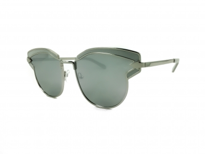 KAREN WALKER FELIPE 1701547 Silver w Soft Grey